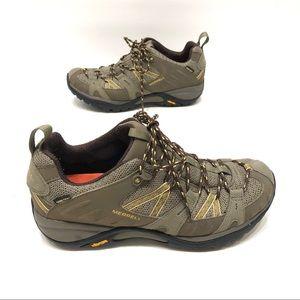 Merrell gore-Tex vibrant hiking shoes women's 9